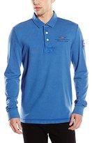 Napapijri Men's ELBAS LS A Long Sleeve Polo Shirt