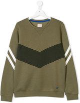 Armani Junior contrast teen sweatshirt