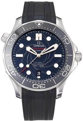 """Omega 2020 unworn Seamaster Diver """"James Bond"""" Limited Edition 42mm"""