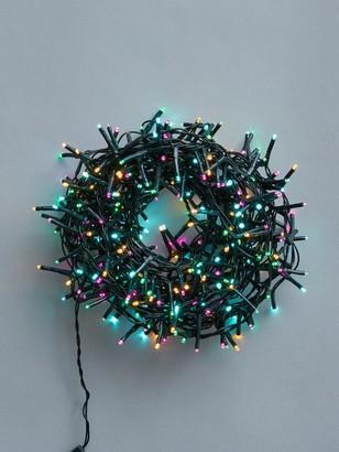 Festive 360 Battery Operated Aurora Sparkle ChristmasLights-9M Lit Length