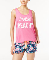 Jenni by Jennifer Moore Keyhole-Back Pajama Tank Top, Only at Macy's