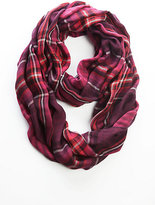 J. Jill Plaid & Stripes Infinity Scarf