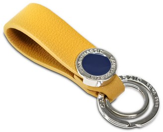 Campo Marzio Double Key Holder Golden Yellow
