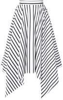 ADAM by Adam Lippes striped handkerchief skirt