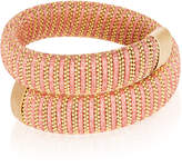 Carolina Bucci Coral Lurex Caro Gold-Plated Bracelet