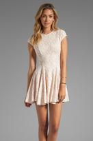 Torn By Ronny Kobo Cristal Lace Dress