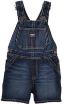 Osh Kosh Toddler Boy Dark Wash Denim Shortalls