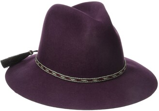 Ale By Alessandra Women's Cavalo Adjustable Felt Hat with Horse Tail Trim