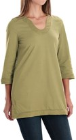 Neon Buddha Liberty Tunic Shirt - Scoop Neck, 3/4 Sleeve (For Women)