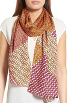 Echo Women's Villa Tile Oblong Silk Scarf