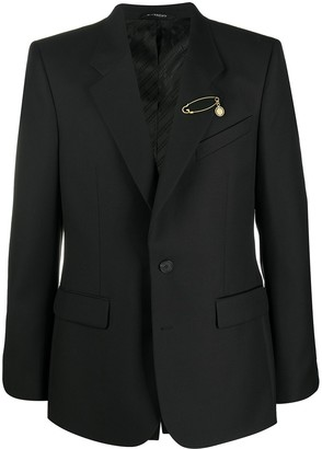 Givenchy Safety Pin Detail Jacket