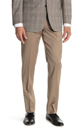 """Brooks Brothers Natural Solid Regent Fit Suit Separates Trousers - 30-34"""" Inseam"""