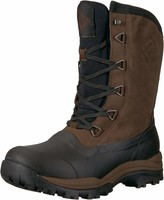 Muck Boot Muck Arctic Outpost Mid-Height Lace-Up Leather & Rubber Mens Winter Boots