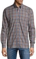 Tailorbyrd Men's Castor Cotton Button-Down Shirt