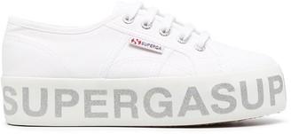 Superga Low-Top Flatform Sneakers
