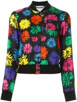 Moschino floral bomber jacket - women - Silk/Polyamide/Virgin Wool/other fibers - 38