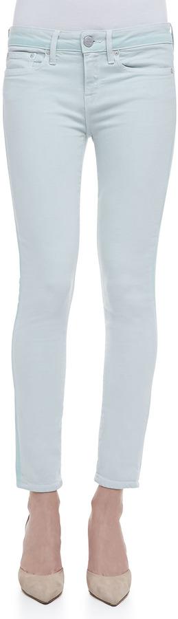 Vince Dylan Ghost-Stripe Skinny Jeans