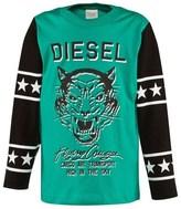 Diesel Green And Black Tee