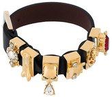 Alexander McQueen embellished buckle bracelet