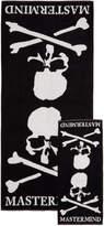 Mastermind World mastermind WORLD Black Skull Towel and Hand Towel Bath Set
