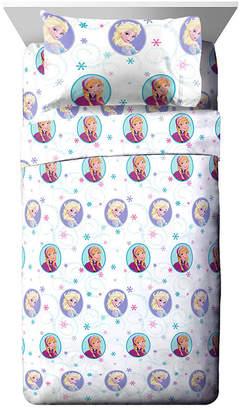 Disney Frozen 3 Piece Twin Sheet Set Bedding