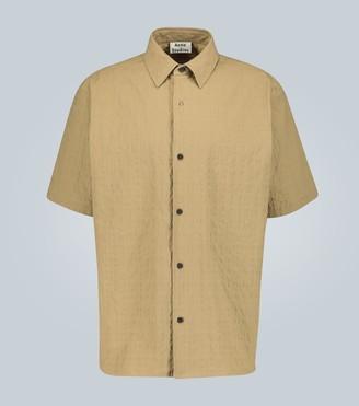 Acne Studios Shepton seersucker shirt