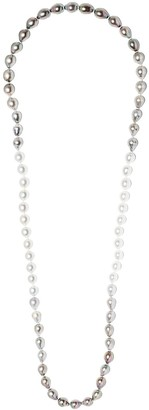 Yoko London Ombre Tahitian and South Sea pearl necklace