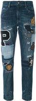 Polo Ralph Lauren patchwork jeans