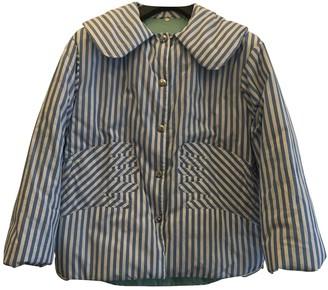 Tsumori Chisato Blue Cotton Coat for Women
