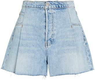 Hudson Paperbag Loose Denim Shorts