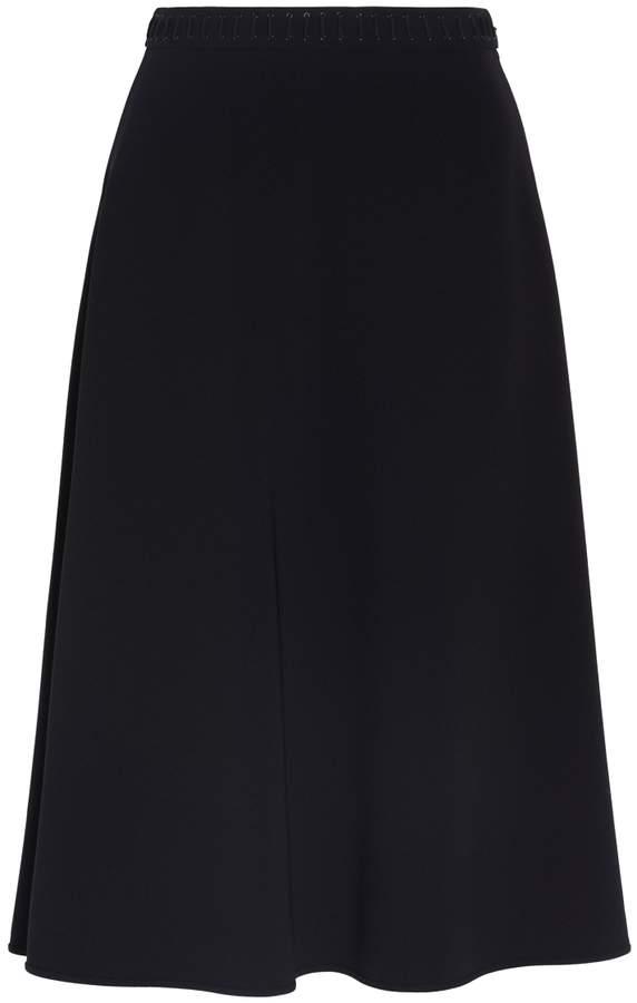 Alexander Wang Lace Detailed A-line Skirt