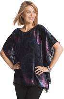 Chico's Paisley Beauty Paula Poncho