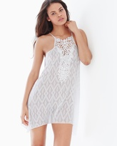 Soma Intimates Hana Sleep Chemise with Lace Ivory