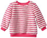 Baby Girl Jumping Beans® Striped Plush Sweater
