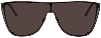 Saint Laurent Black Mask SL 1-B Sunglasses