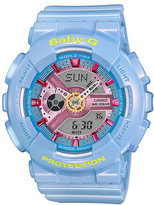 Baby-G Candy Ladies' Blue Resin Strap Watch