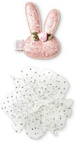 Cherokee Toddler Girls' Rabbits/Solid Clips/Barrettes Pink/White