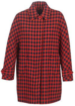 Benetton SIDUDEL women's Coat in Brown