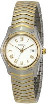 Ebel Women's 1215646 Classic Wave Stainless Steel and 18k Gold-Plated Watch