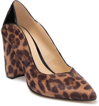 Nine West Aileen Faux Calf Hair Pump