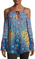 Nanette Lepore Woodstock Off-the-Shoulder Tunic, Multi