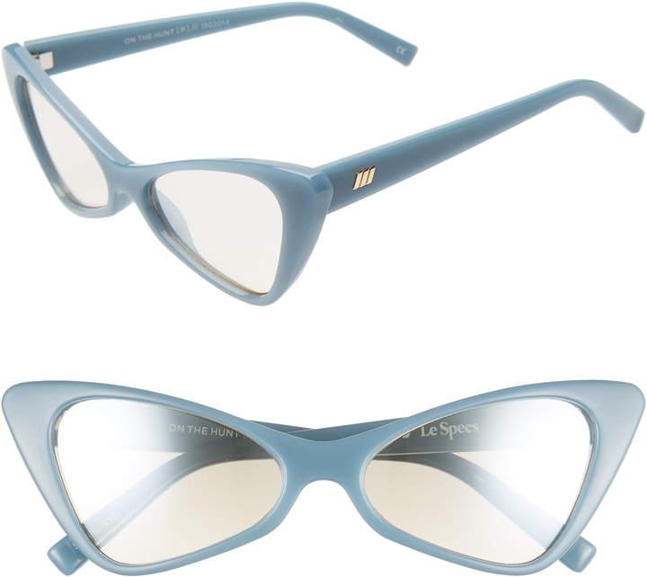 b595834b6 Le Specs Blue Women's Sunglasses - ShopStyle