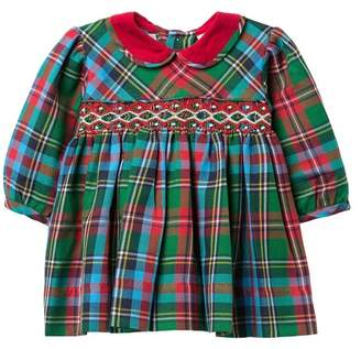 Carriage Boutique Plaid Dress (Baby Girls)