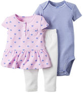 Carter's 3-Piece Tunic & Pant Set