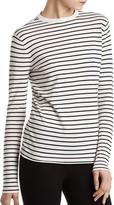 ATM Anthony Thomas Melillo Striped Crewneck Sweater