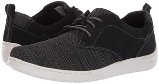 Dunham D Fitsmart Tie (Black) Men's Shoes