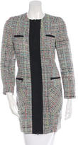 Jenni Kayne Collarless Tweed Coat