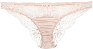 Fleur of England Sheer Lace Briefs