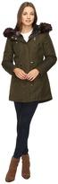 Betsey Johnson Parka w/ Multi Fur Hood
