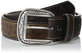 Ariat Men's Ostrich-Print Belt
